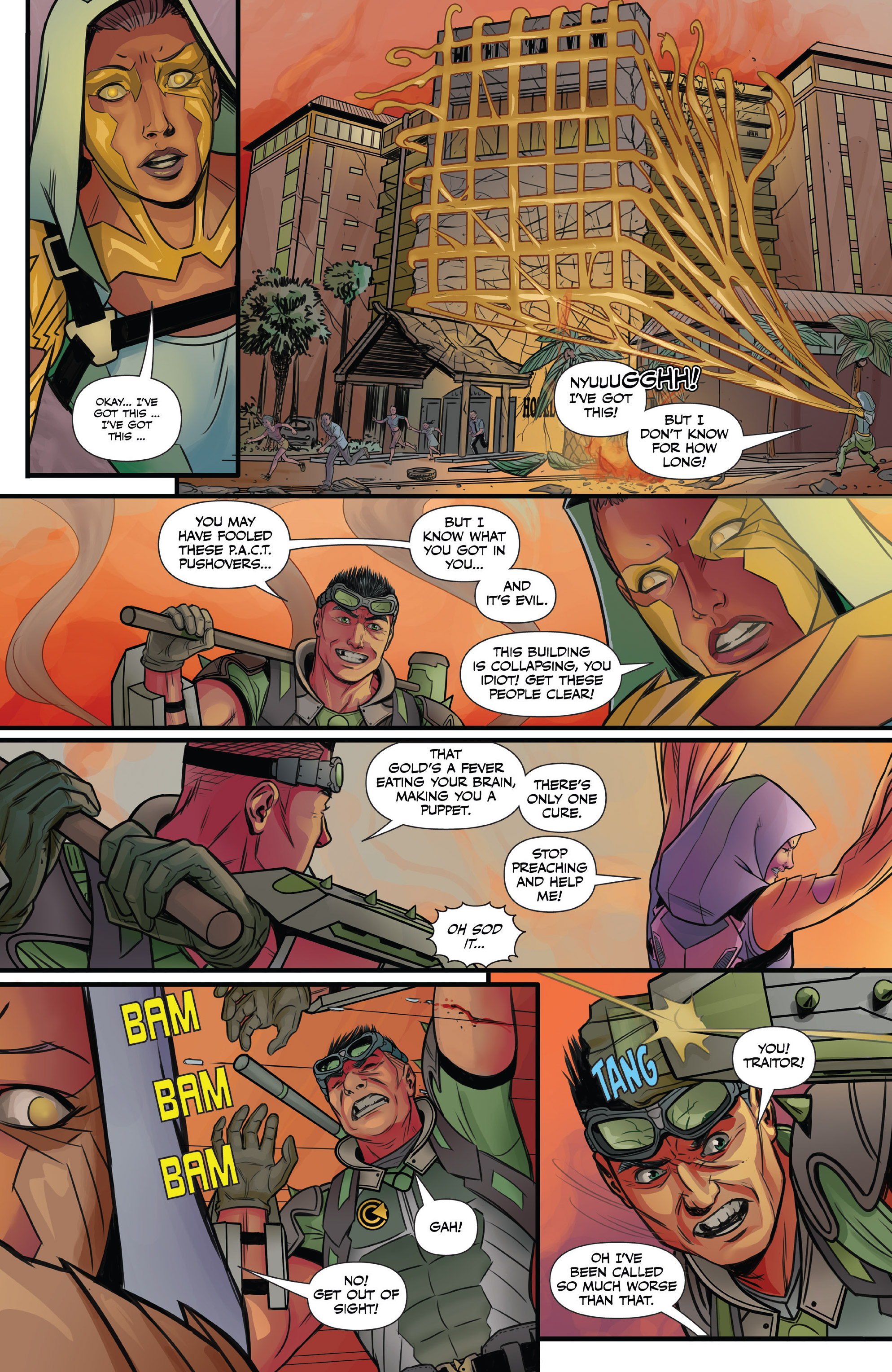 Read online Agents of P.A.C.T. comic -  Issue #2 - 12