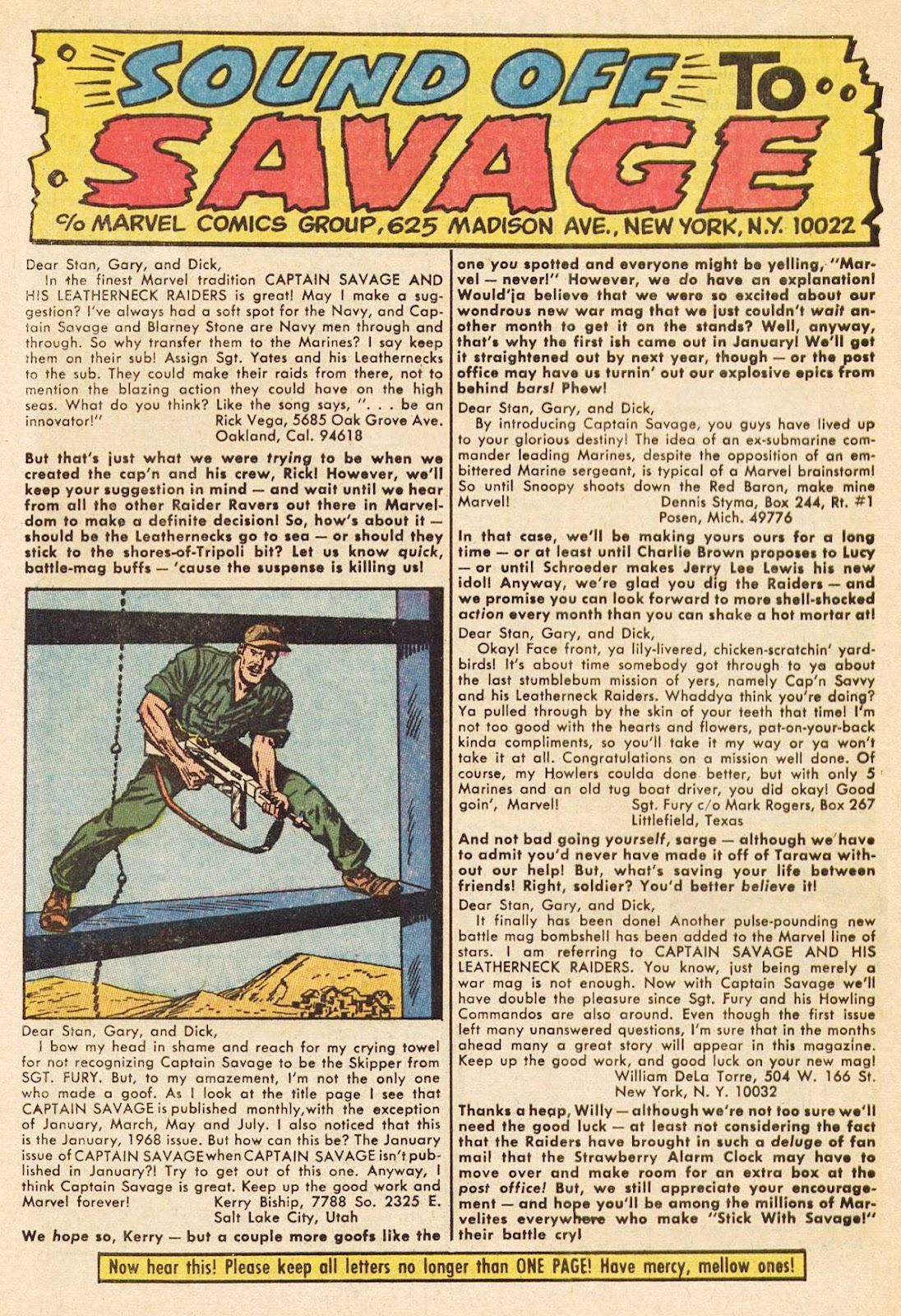 Captain Savage and his Leatherneck Raiders issue 3 - Page 32