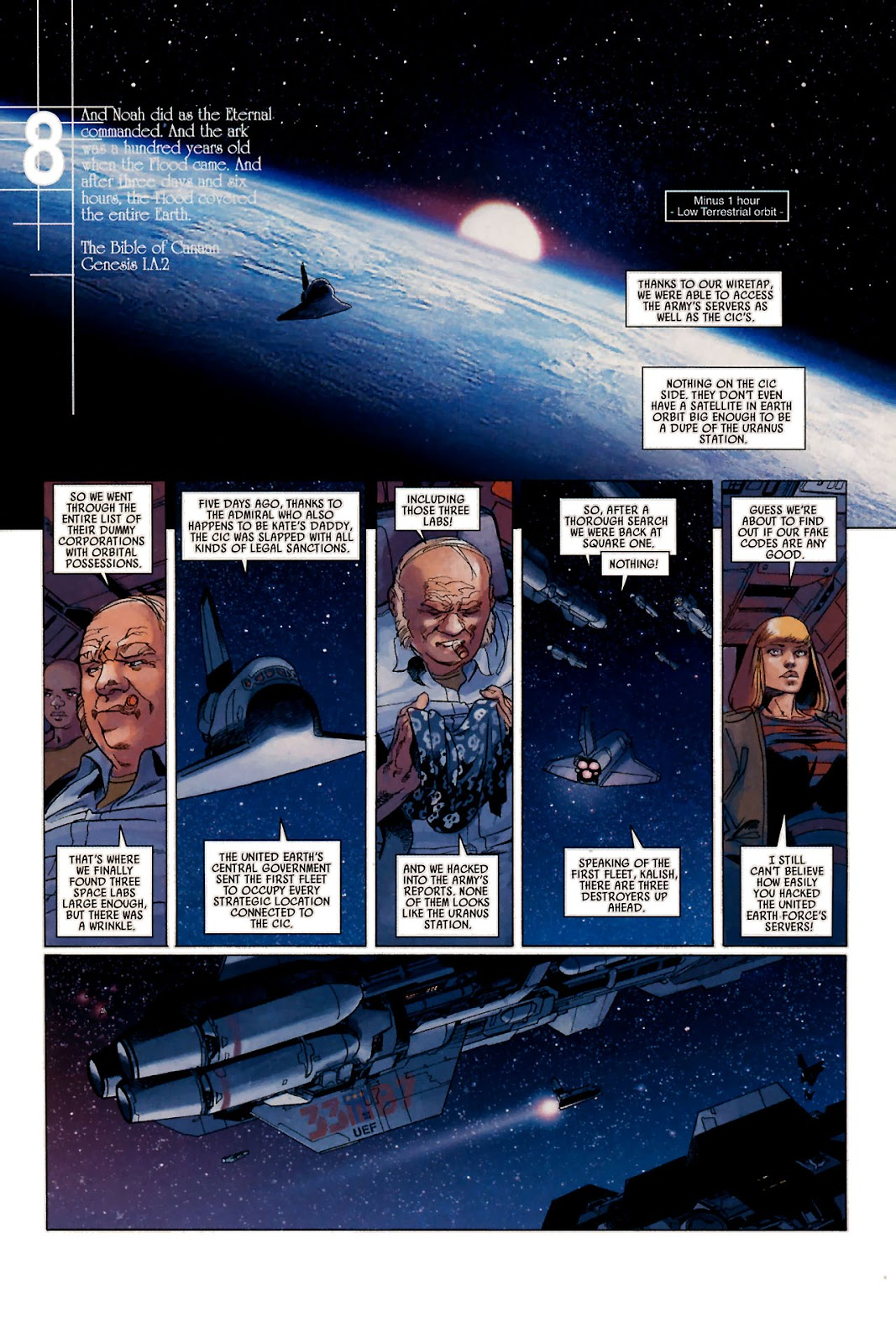 Read online Universal War One: Revelations comic -  Issue #1 - 37