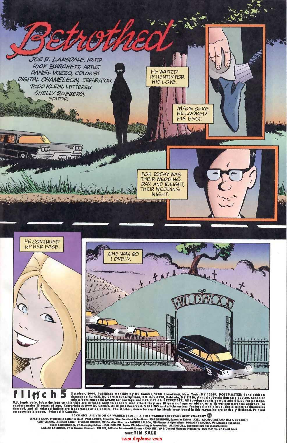 Read online Flinch comic -  Issue #5 - 2