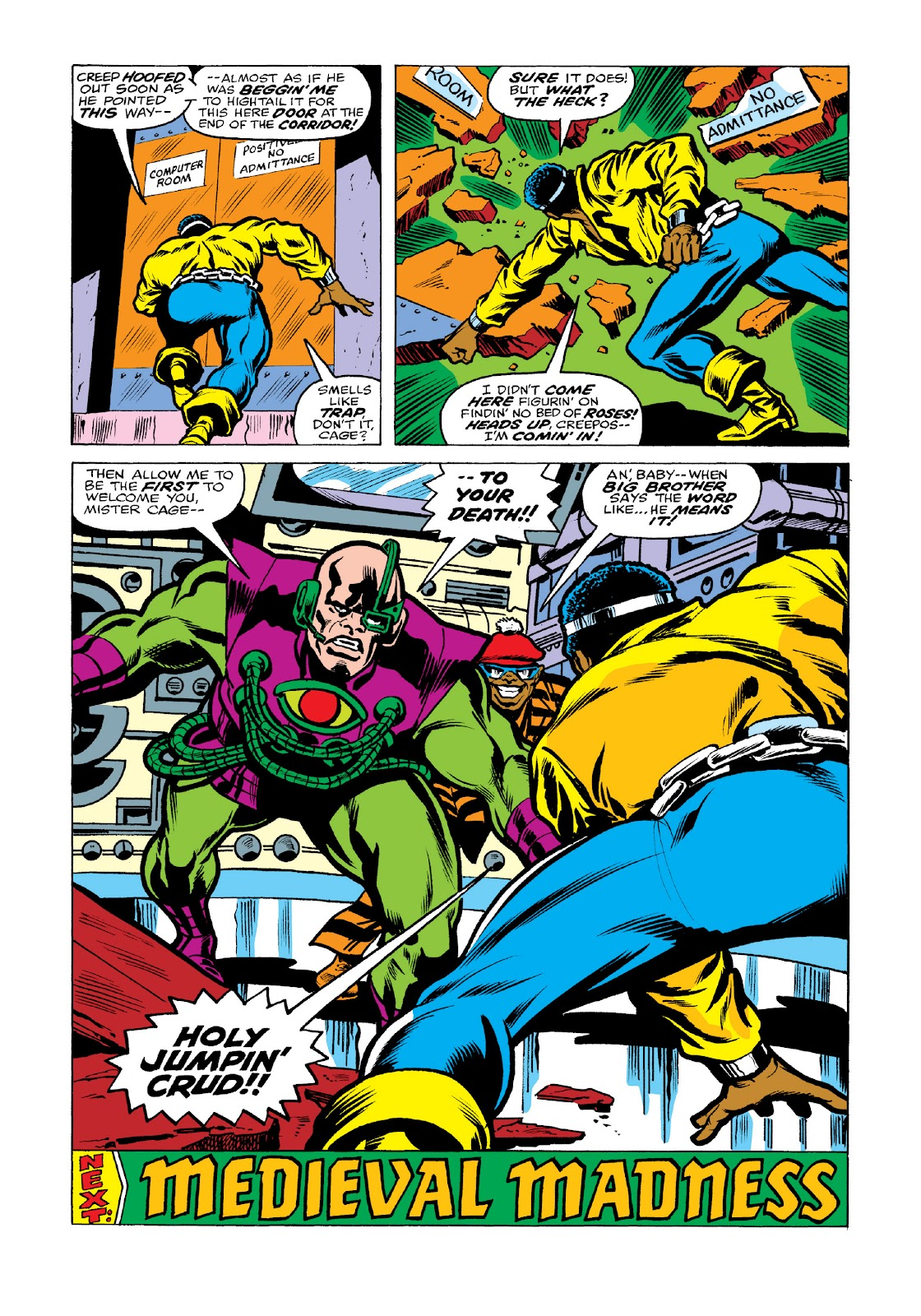 Read online Marvel Masterworks: Luke Cage, Power Man comic -  Issue # TPB 3 (Part 2) - 54