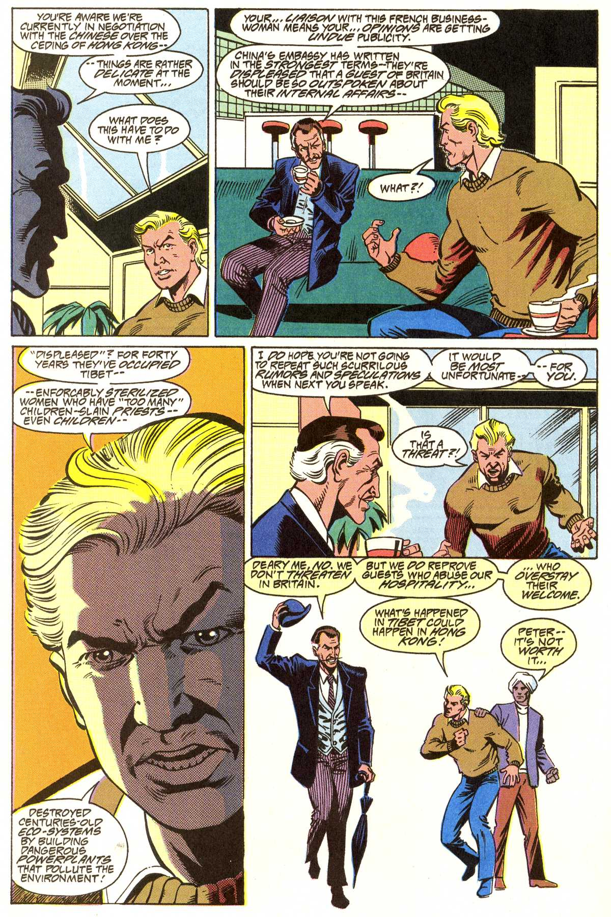 Read online Peter Cannon--Thunderbolt (1992) comic -  Issue #7 - 19