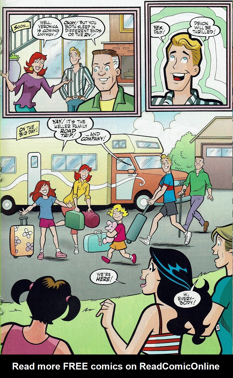 Read online Kevin Keller comic -  Issue #9 - 20