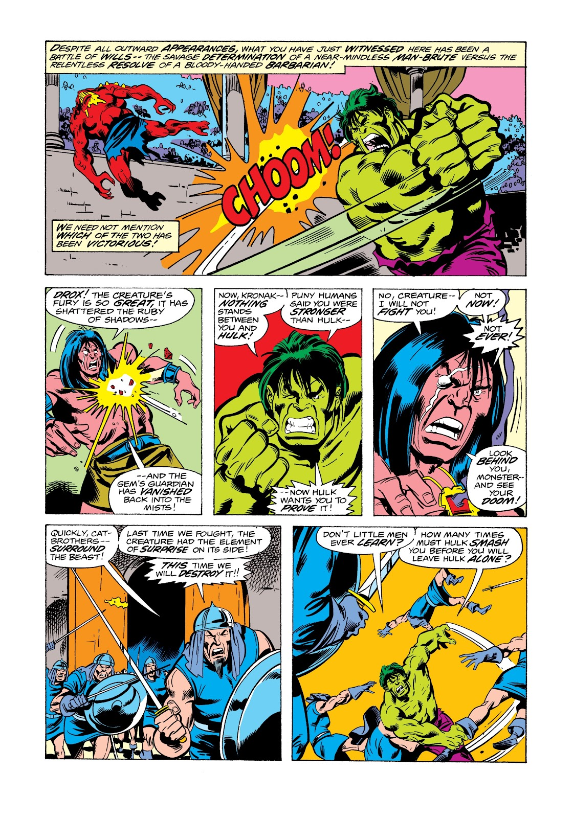 Read online Marvel Masterworks: The Incredible Hulk comic -  Issue # TPB 12 (Part 2) - 34