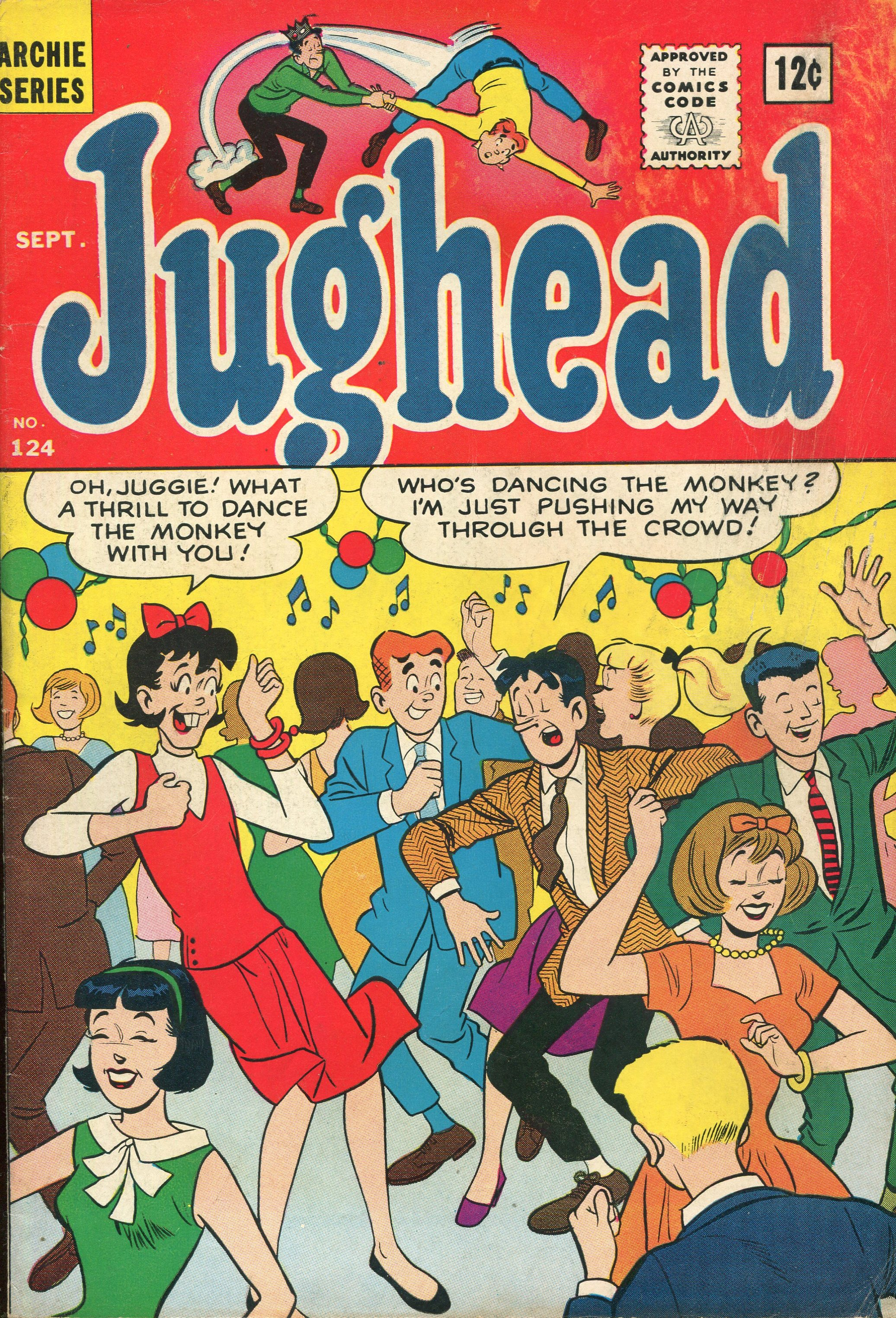 Read online Archie's Pal Jughead Comics comic -  Issue #124 - 1