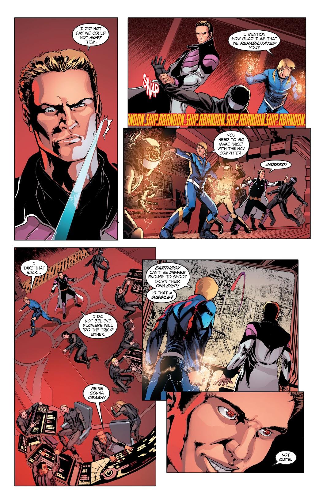Read online Smallville Season 11 [II] comic -  Issue # TPB 4 - 23