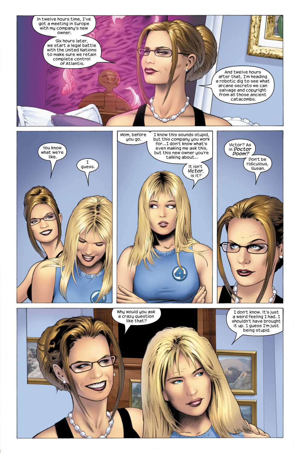 Read online Ultimate Fantastic Four (2004) comic -  Issue #26 - 20