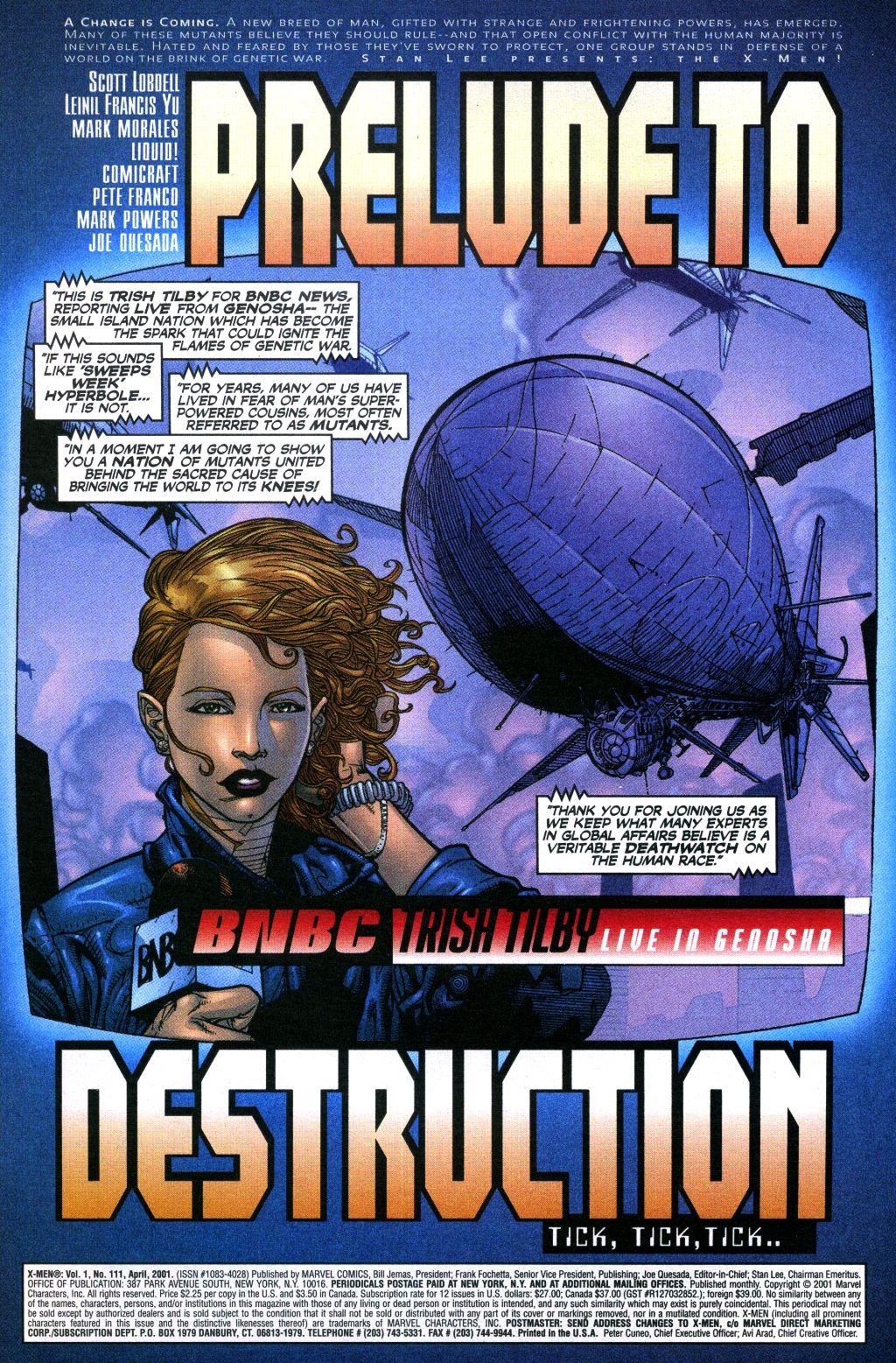 X-Men (1991) 111 Page 1