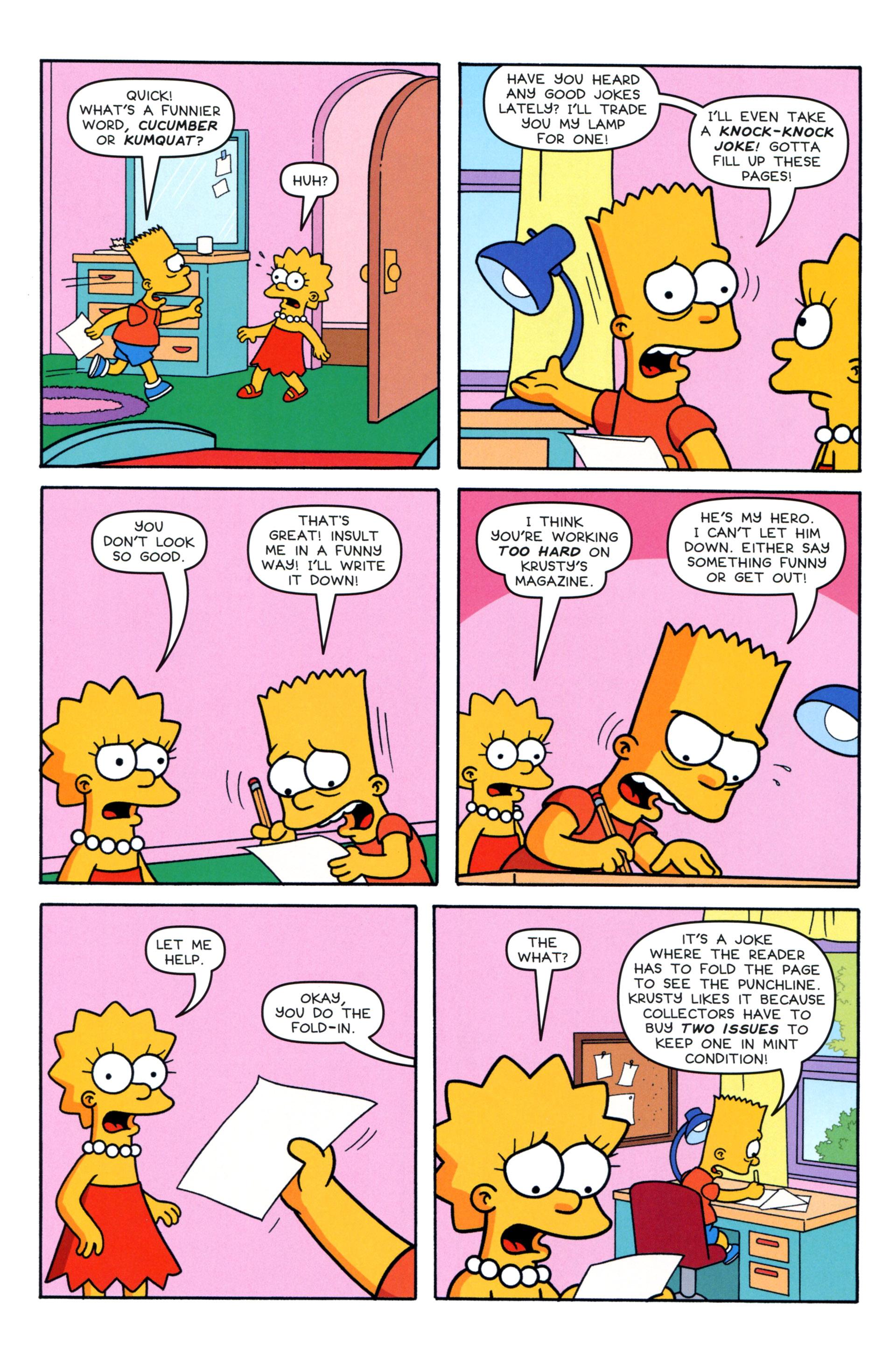 Read online Simpsons Comics comic -  Issue #203 - 14