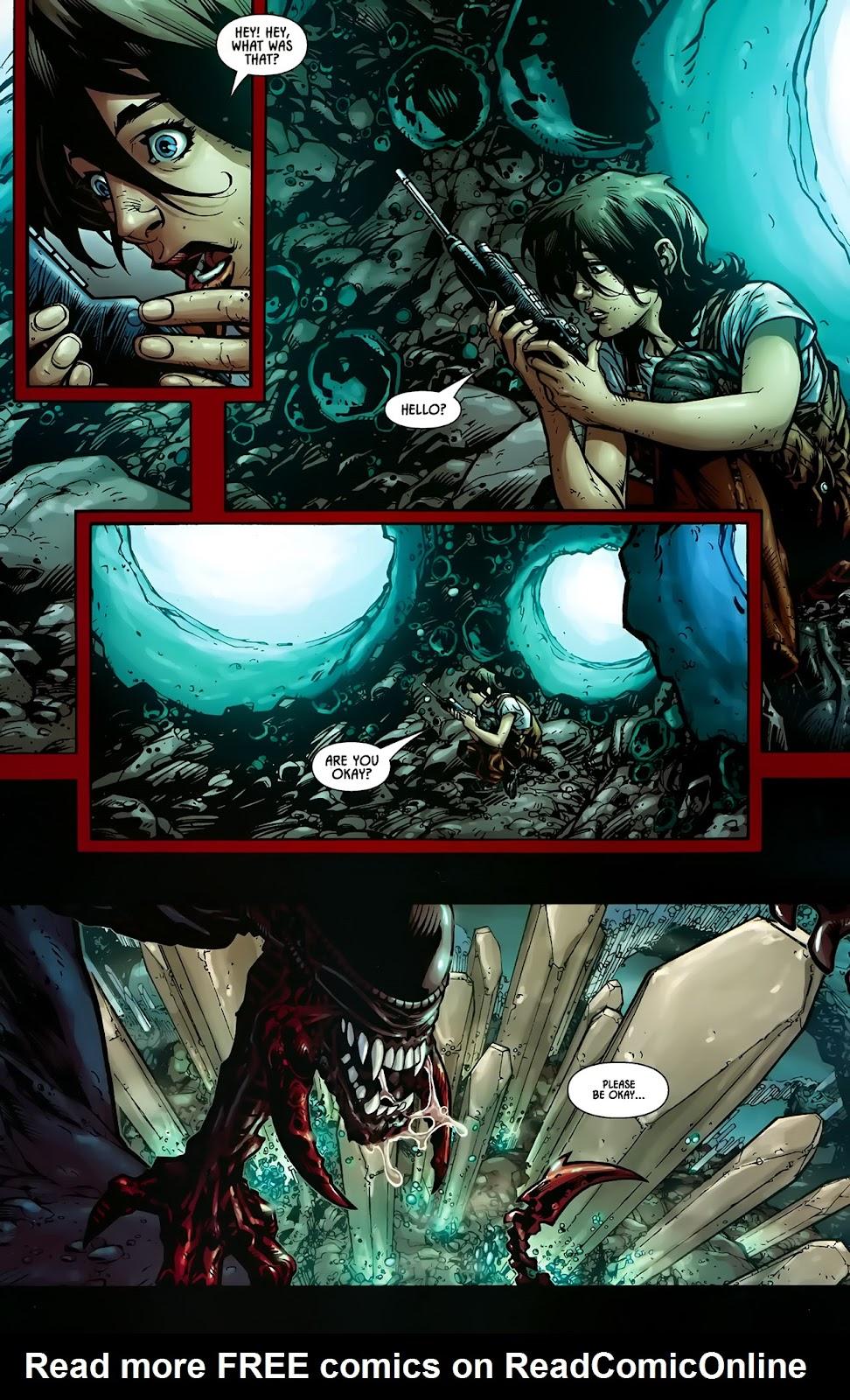 Read online Aliens (2009) comic -  Issue #1 - 7