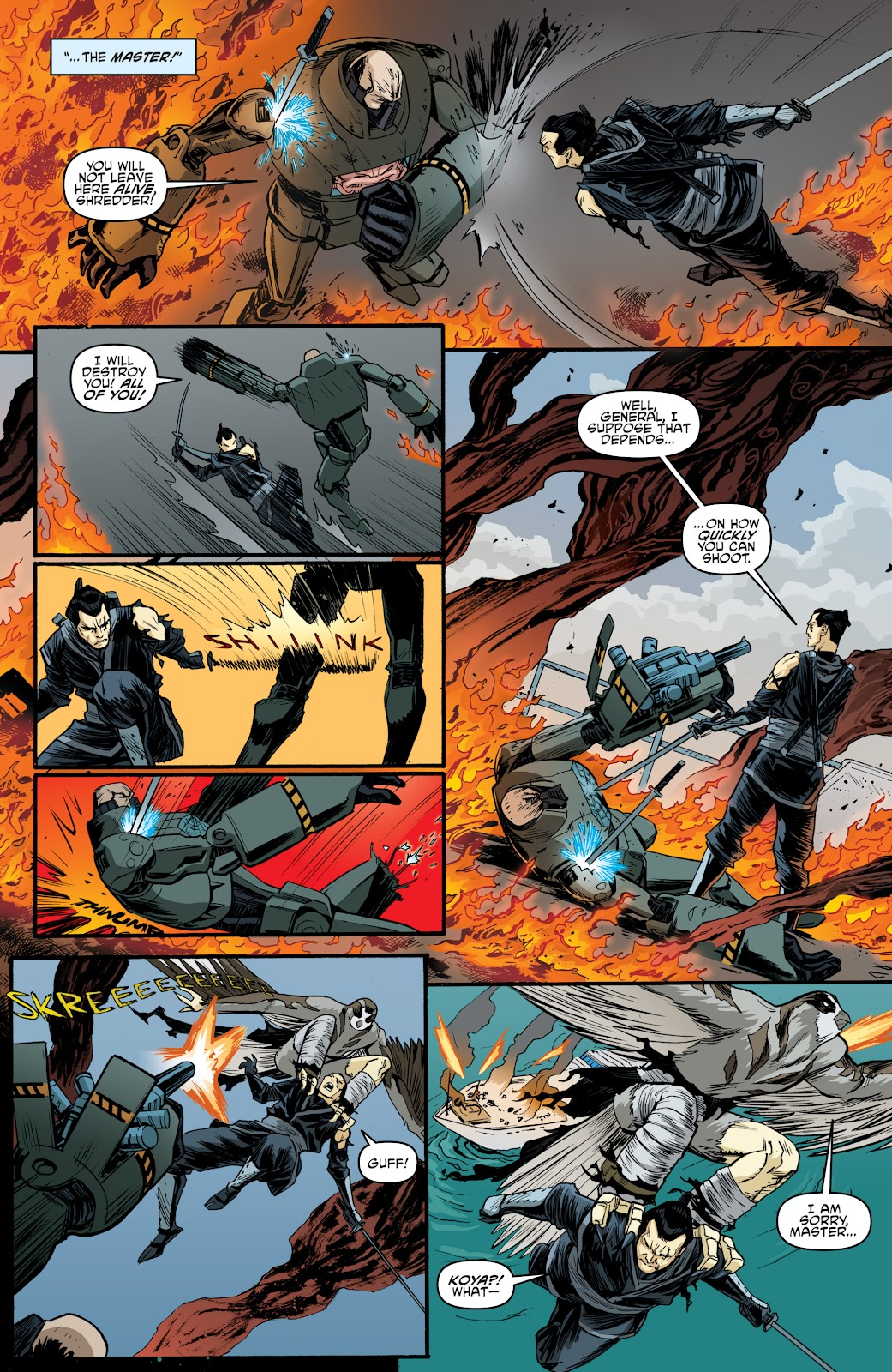 Read online Teenage Mutant Ninja Turtles: The IDW Collection comic -  Issue # TPB 4 (Part 3) - 117