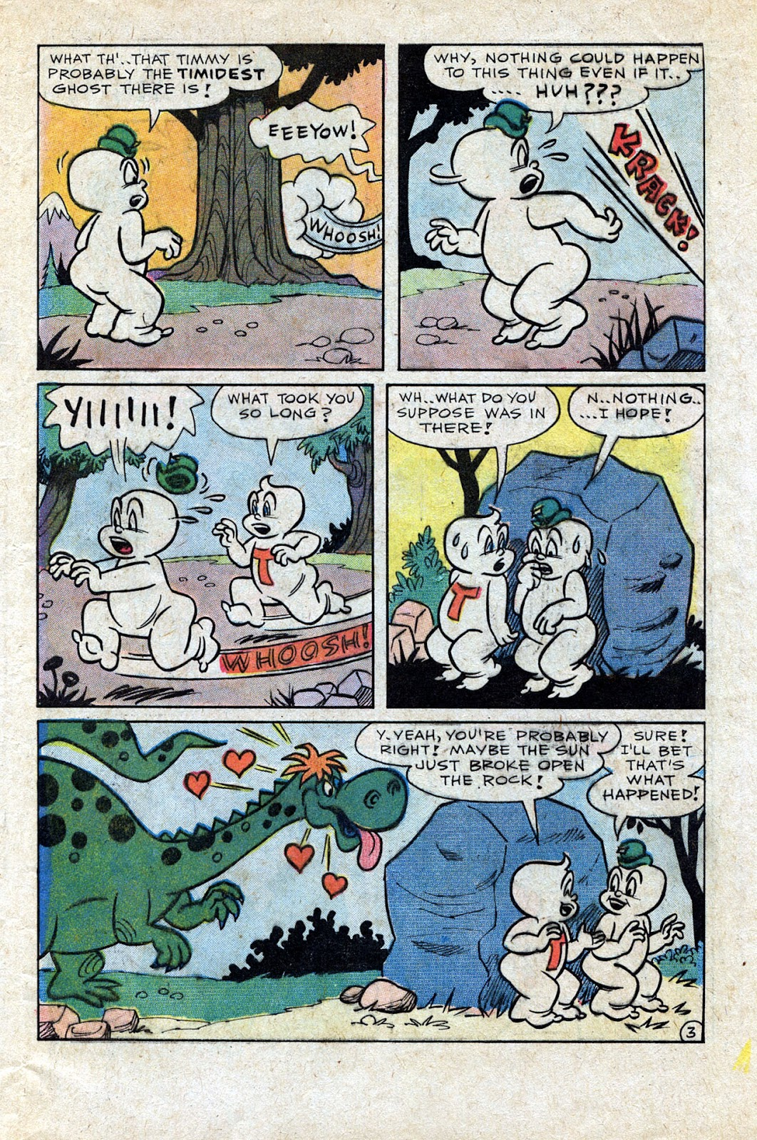 Read online Timmy the Timid Ghost comic -  Issue #20 - 5