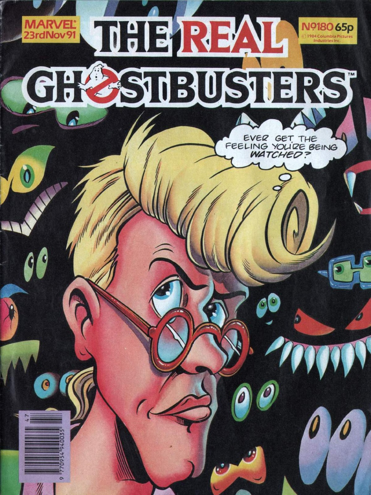 The Real Ghostbusters 180 Page 1