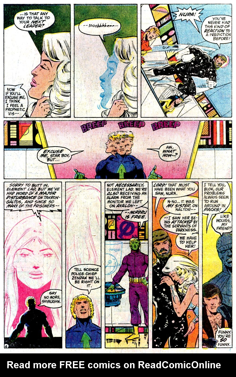 Legion of Super-Heroes (1980) 291 Page 6