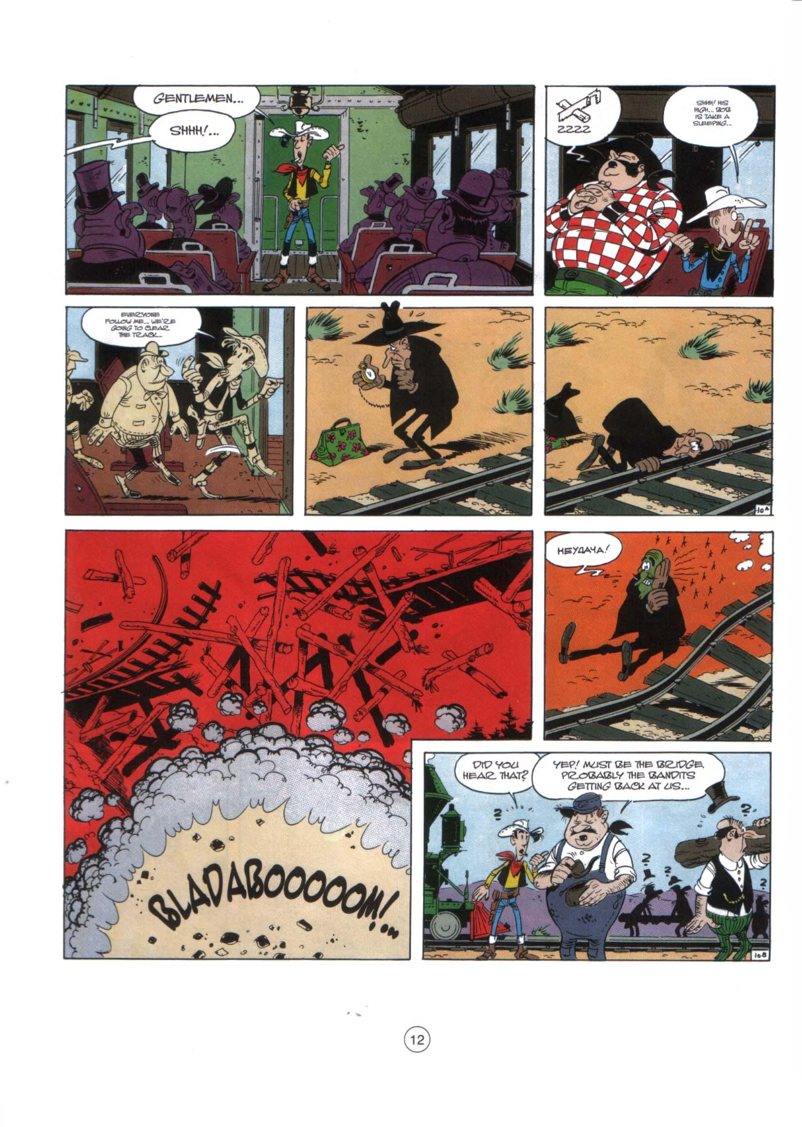 Read online A Lucky Luke Adventure comic -  Issue #29 - 11