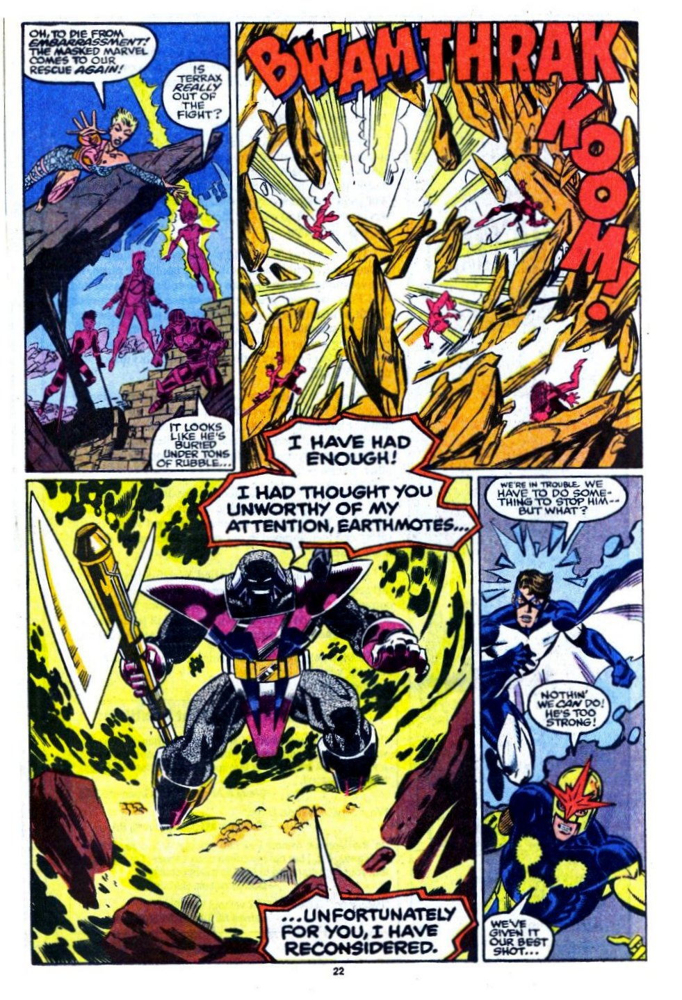 The New Warriors Issue #16 #20 - English 17