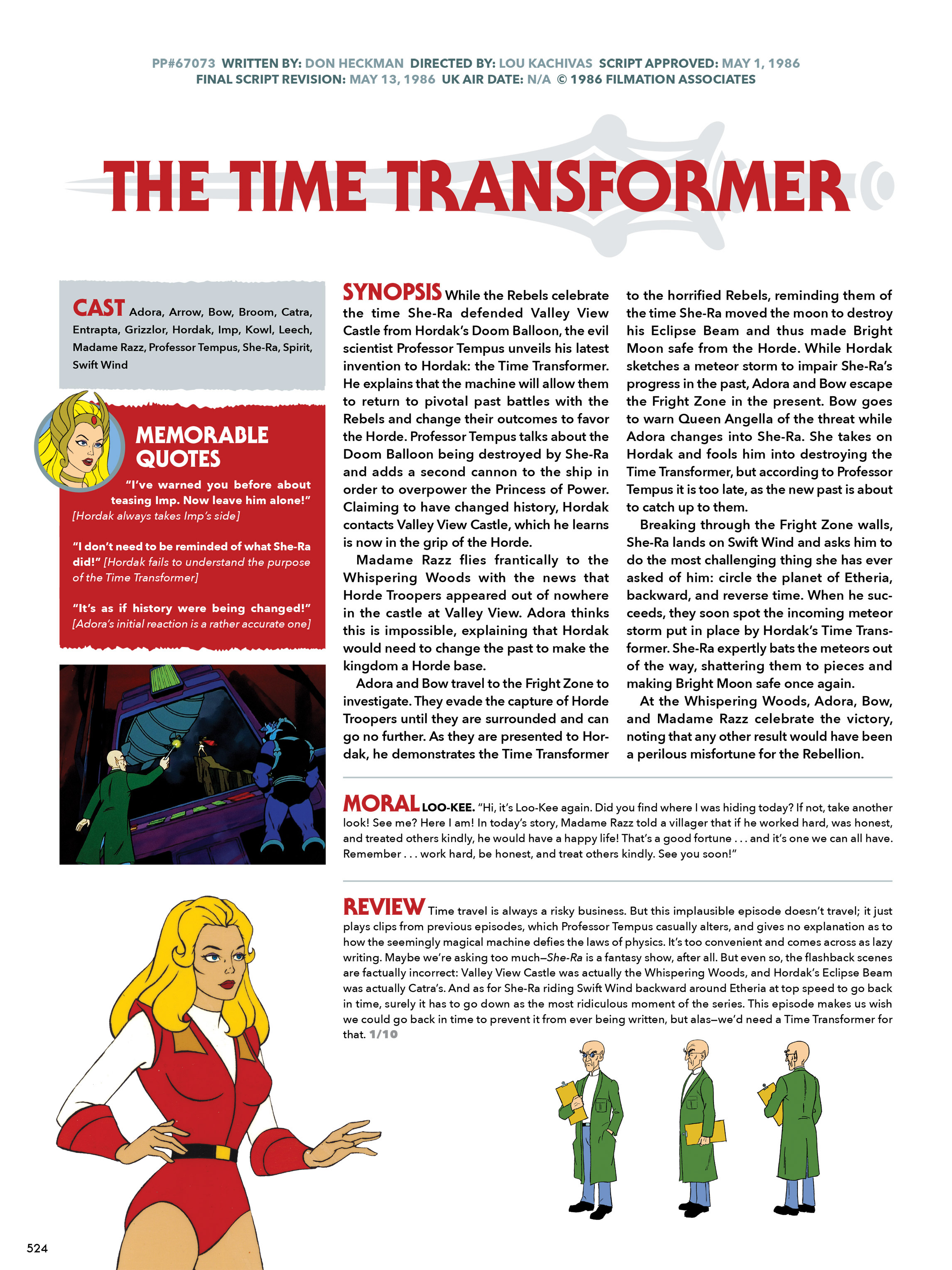 Read online He-Man and She-Ra: A Complete Guide to the Classic Animated Adventures comic -  Issue # TPB (Part 3) - 124