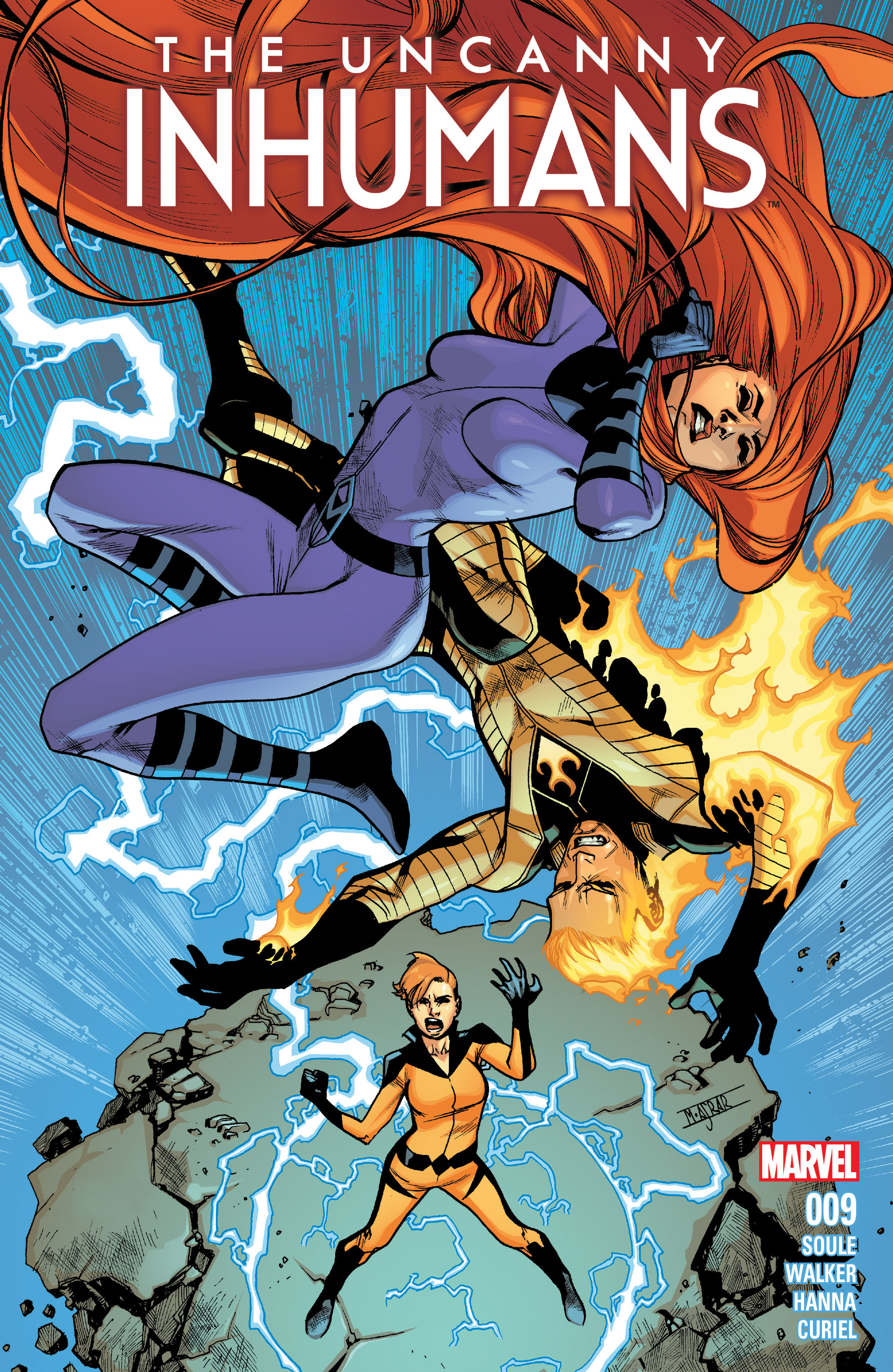 The Uncanny Inhumans 9 Page 1