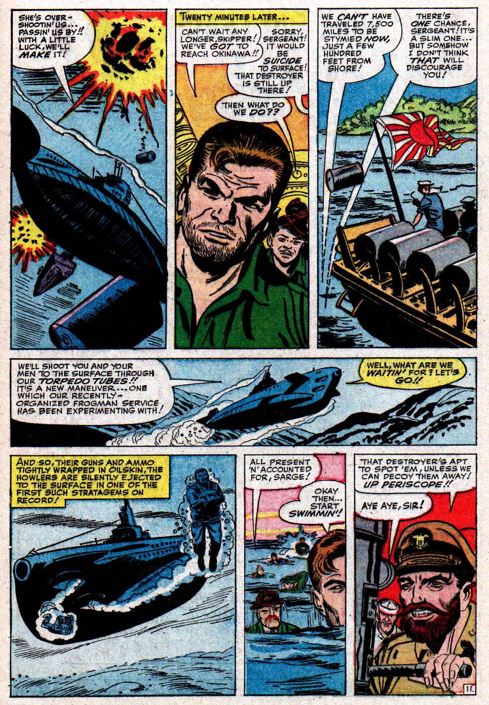 Read online Sgt. Fury comic -  Issue #10 - 16