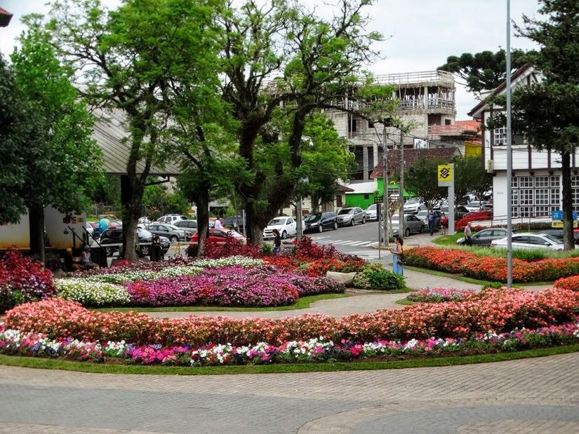 Praça das Flores - Nova Petrópolis - RS
