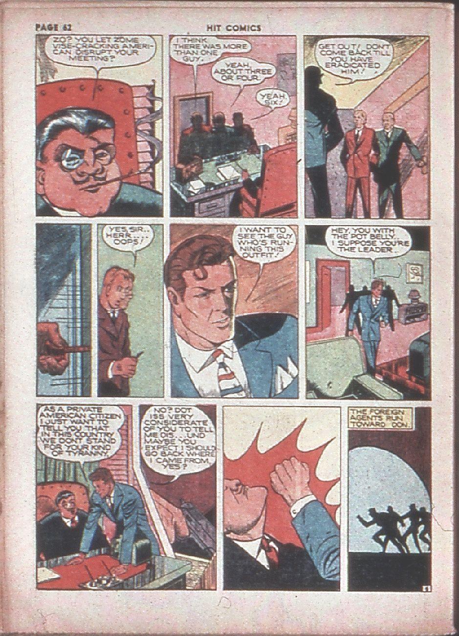 Read online Hit Comics comic -  Issue #8 - 64