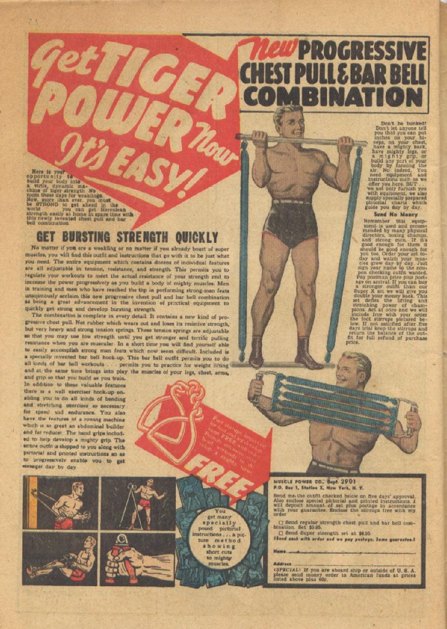 Read online Super-Magician Comics comic -  Issue #13 - 66
