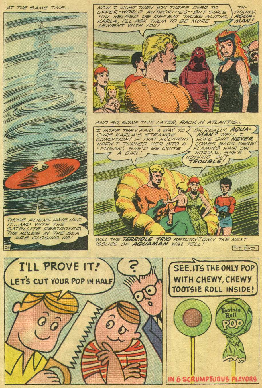 Read online Aquaman (1962) comic -  Issue #24 - 33