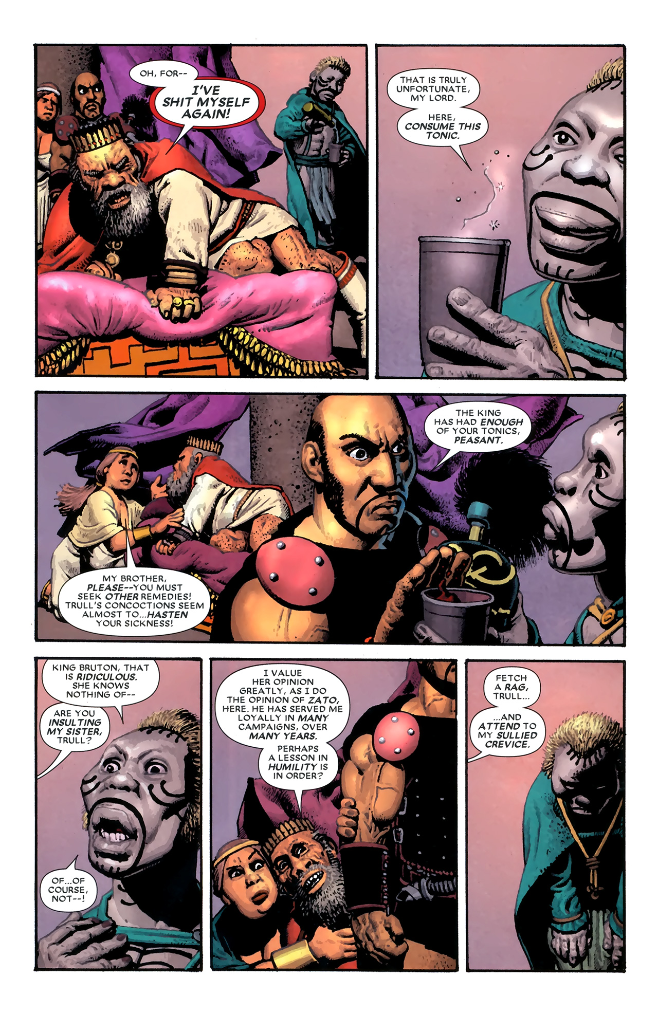 Read online Starr the Slayer comic -  Issue #3 - 7