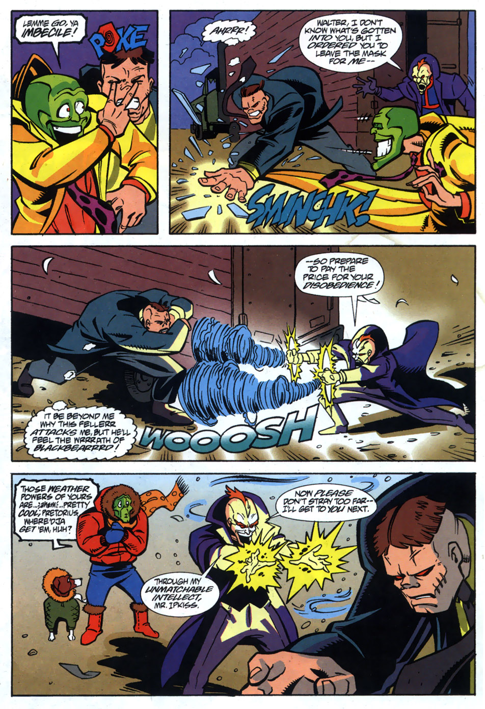 Read online Adventures Of The Mask comic -  Issue #5 - 20