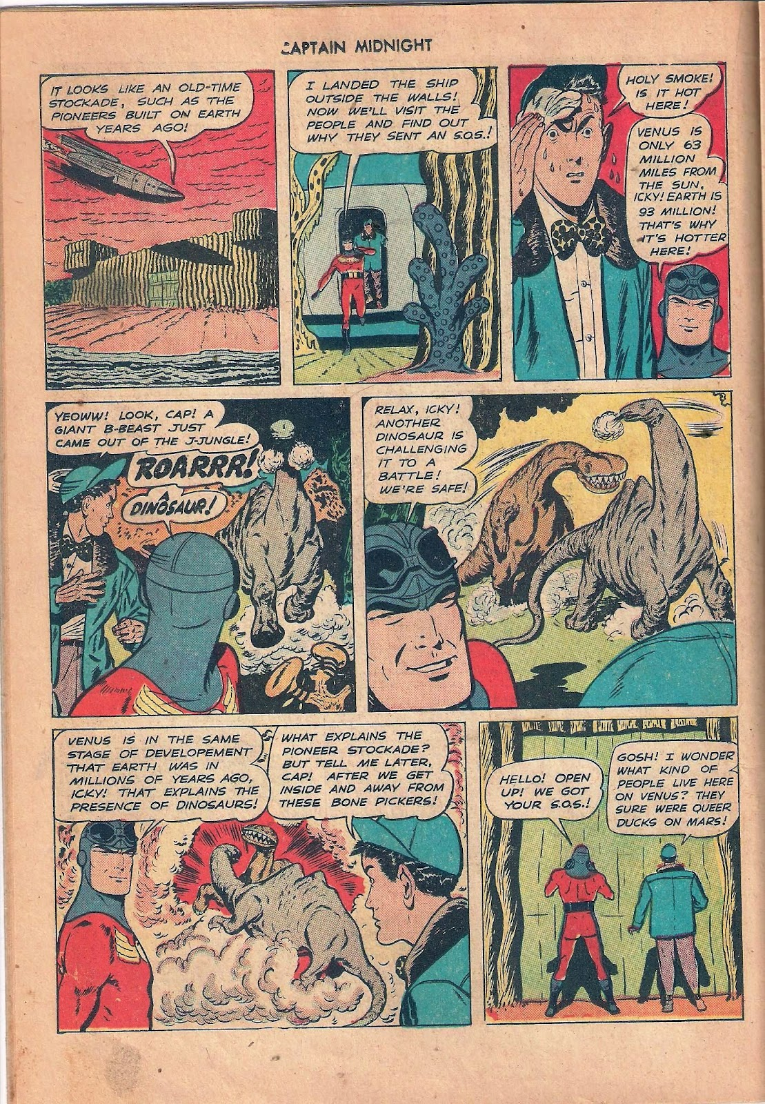Captain Midnight (1942) issue 53 - Page 18