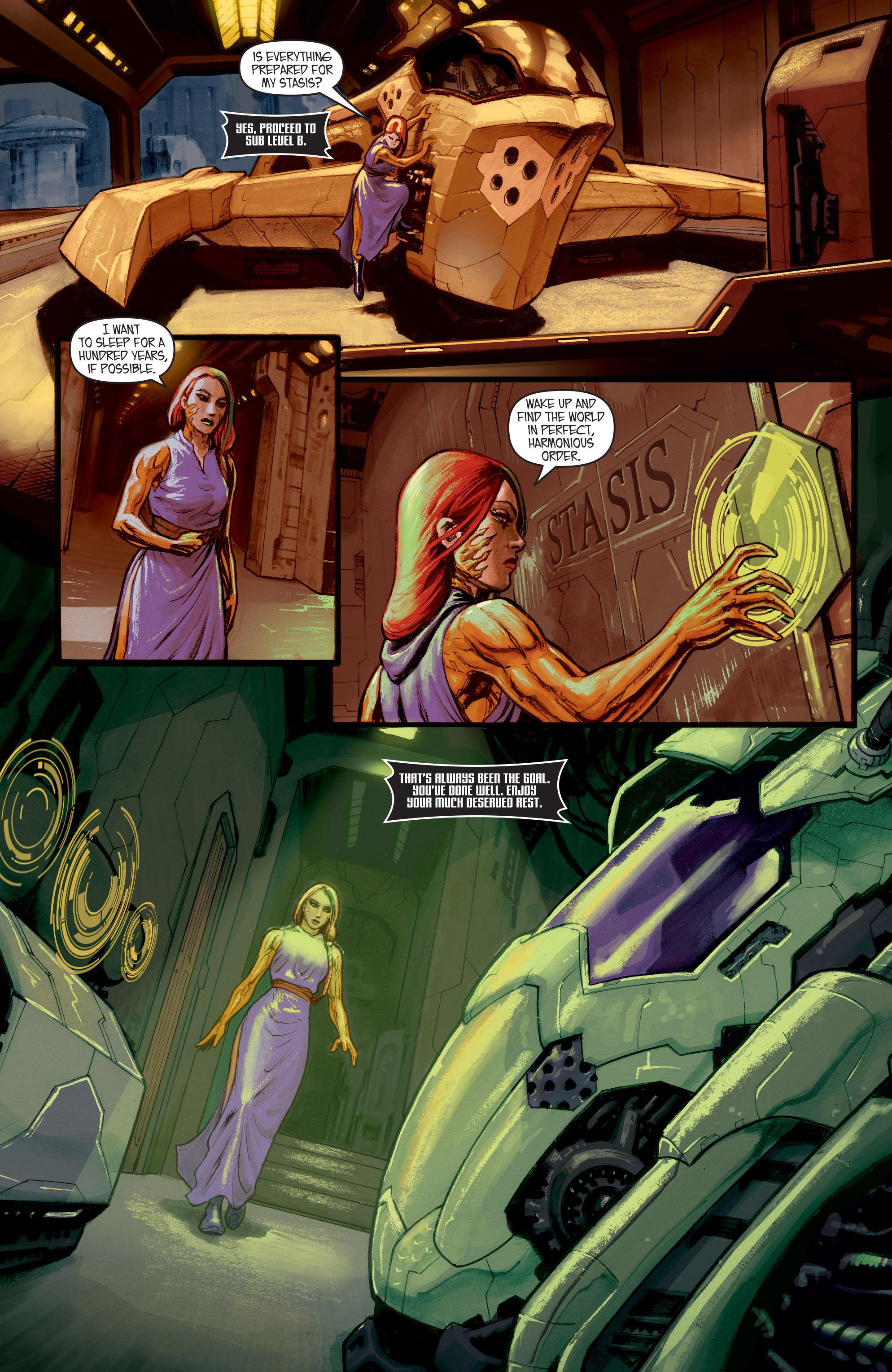 Read online IXth Generation Hidden Files comic -  Issue #1 - 7