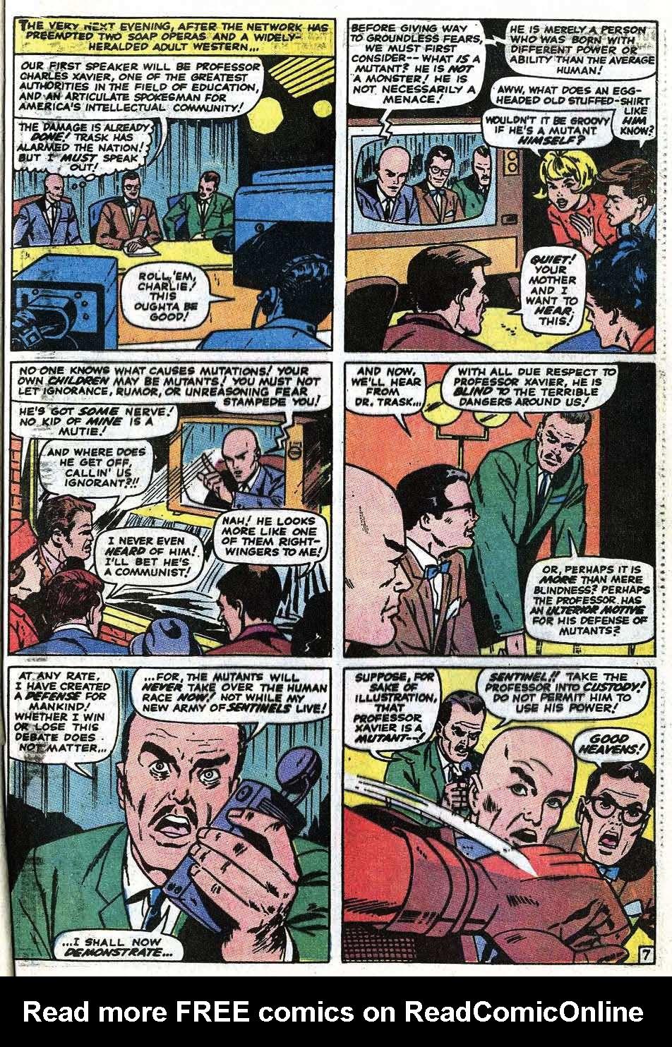 Uncanny X-Men (1963) 68 Page 8
