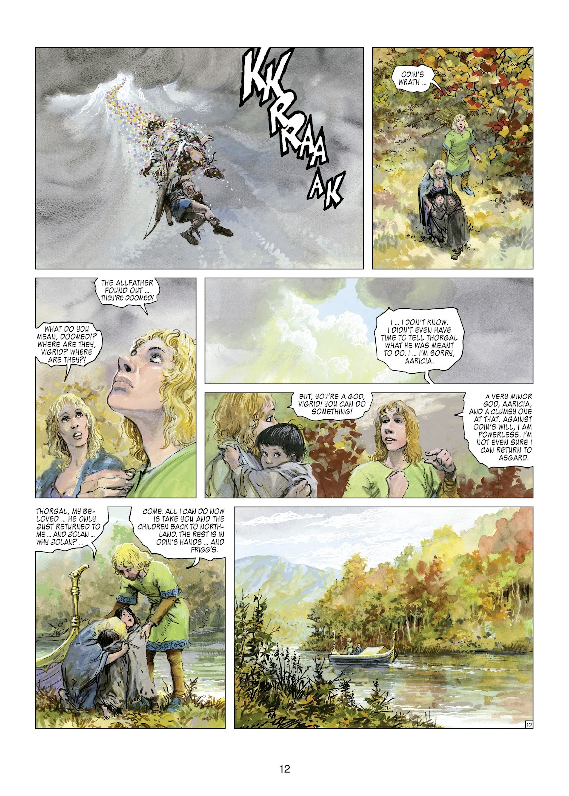 Read online Thorgal comic -  Issue #21 - 14