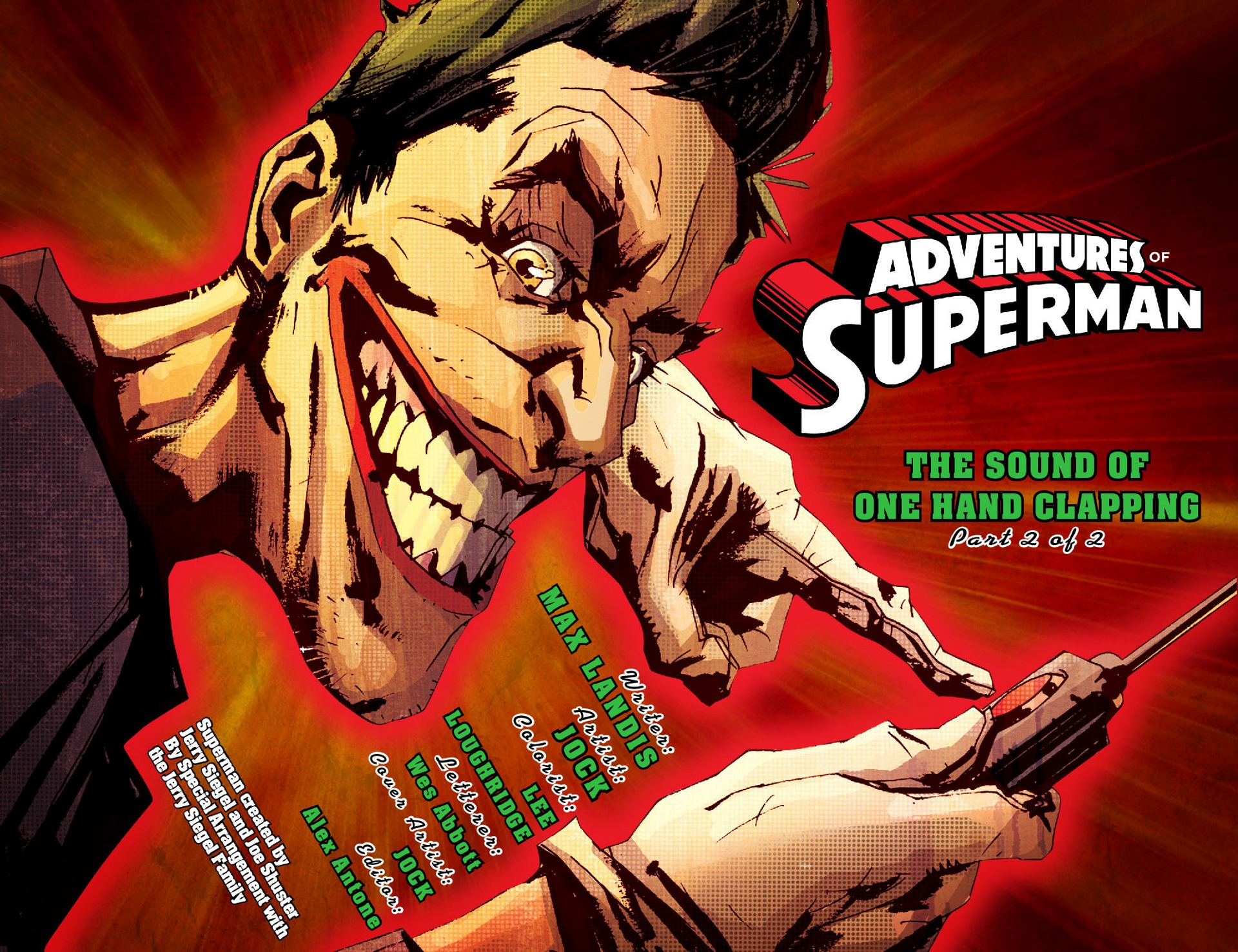 Read online Adventures of Superman [I] comic -  Issue #41 - 2