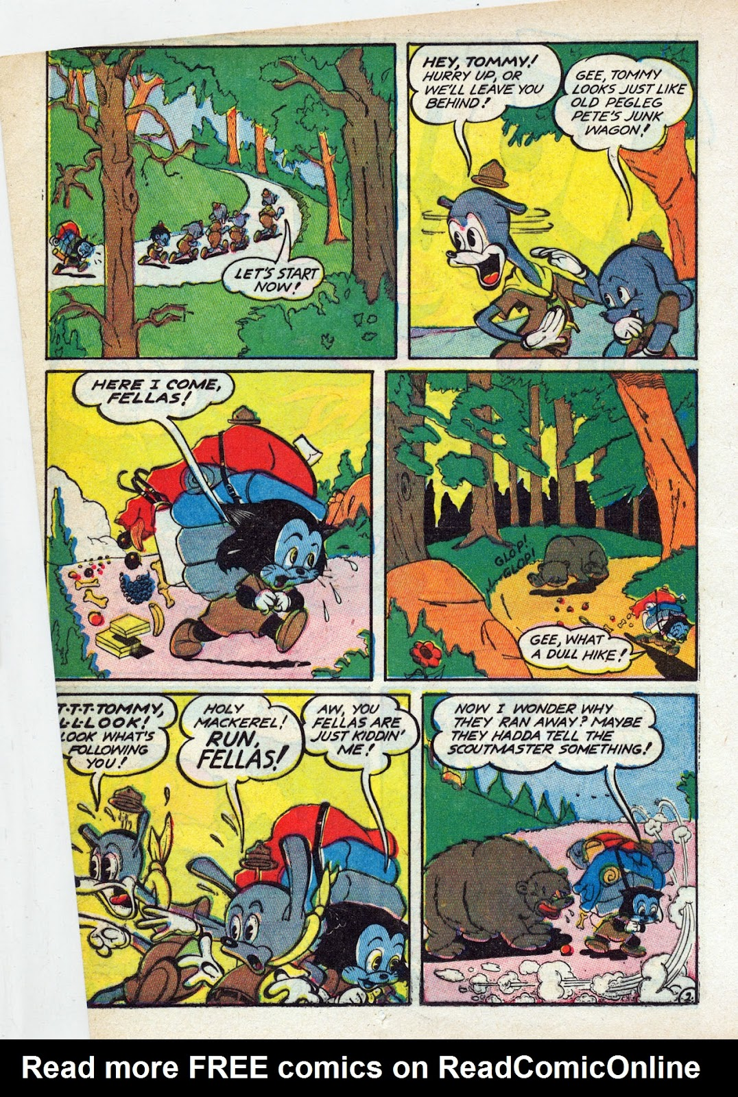 Read online Comedy Comics (1942) comic -  Issue #13 - 29