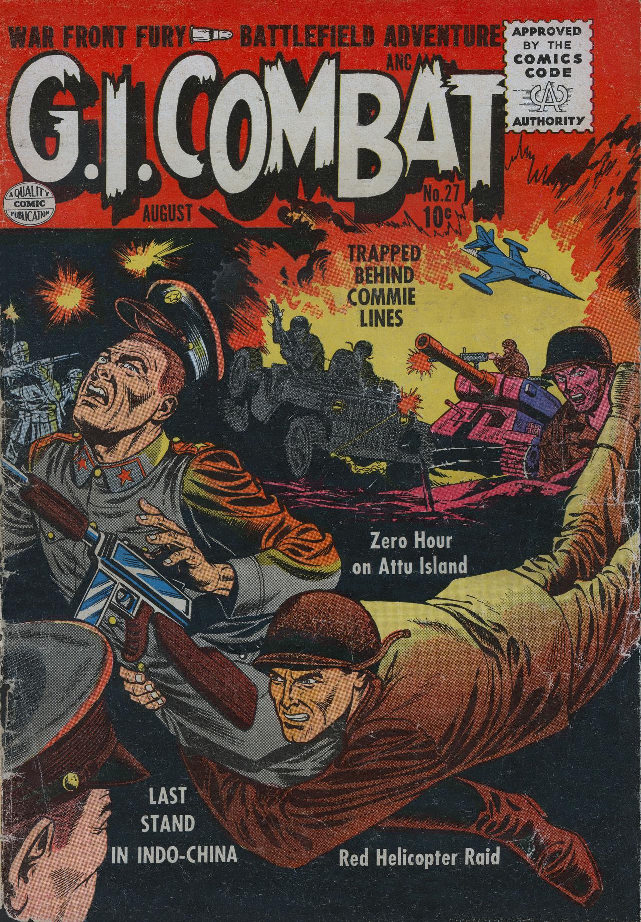 G.I. Combat (1952) 27 Page 1
