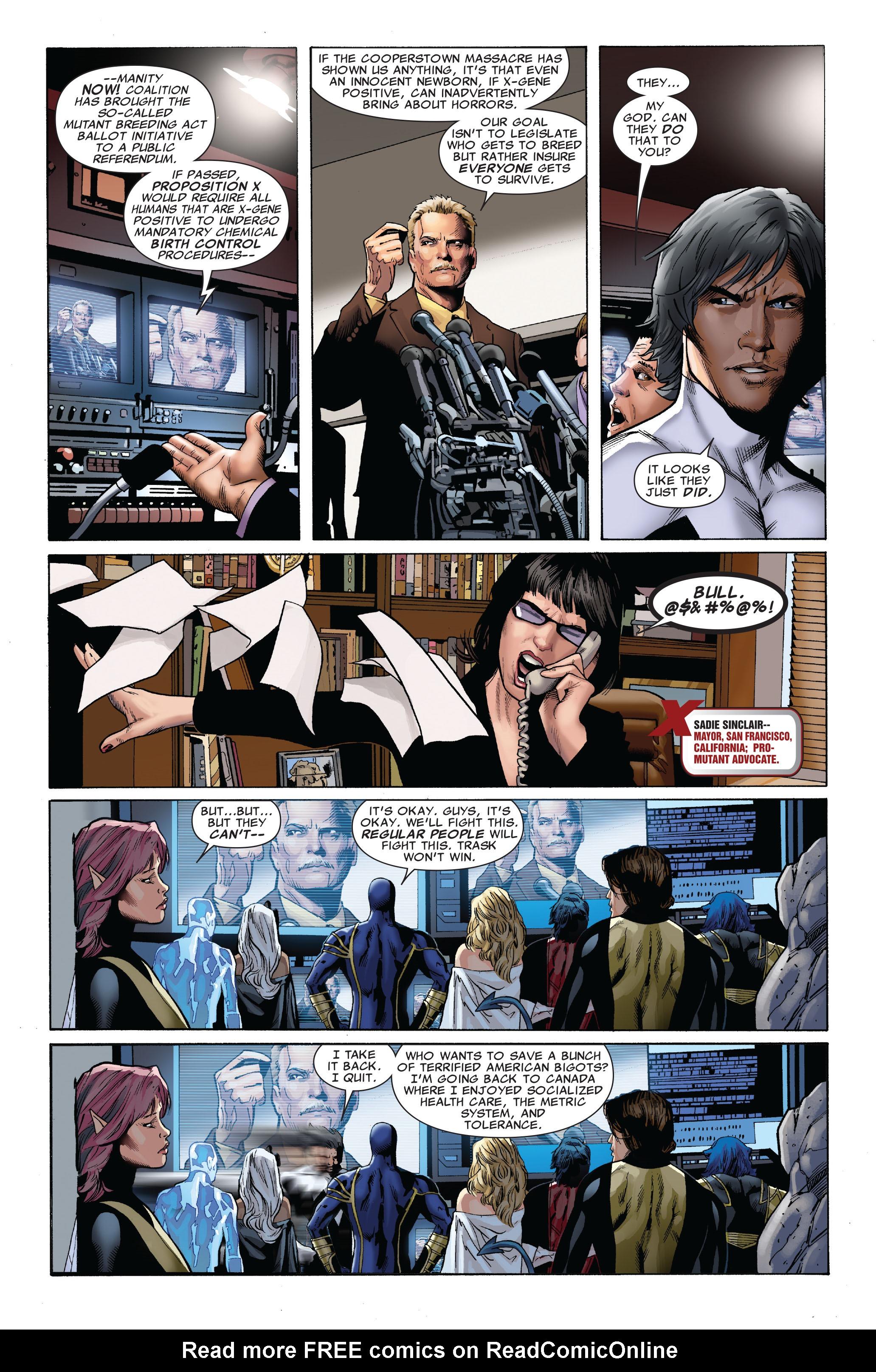 Read online Uncanny X-Men (1963) comic -  Issue #509 - 8