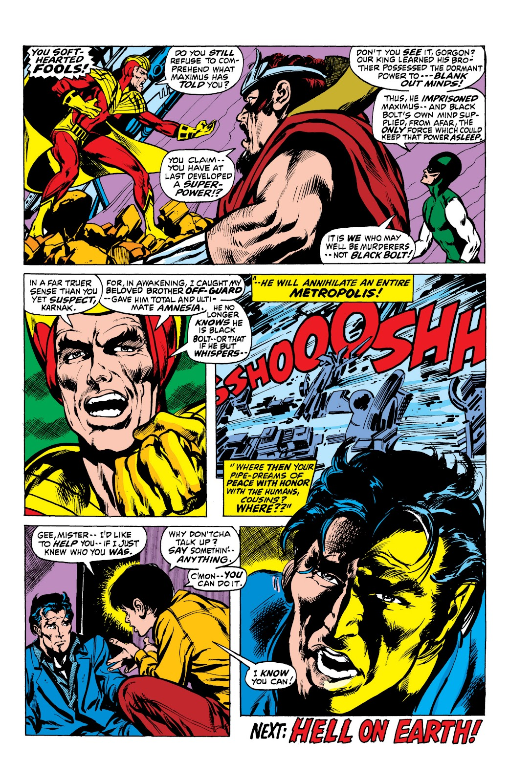 Read online Marvel Masterworks: The Inhumans comic -  Issue # TPB 1 (Part 2) - 23