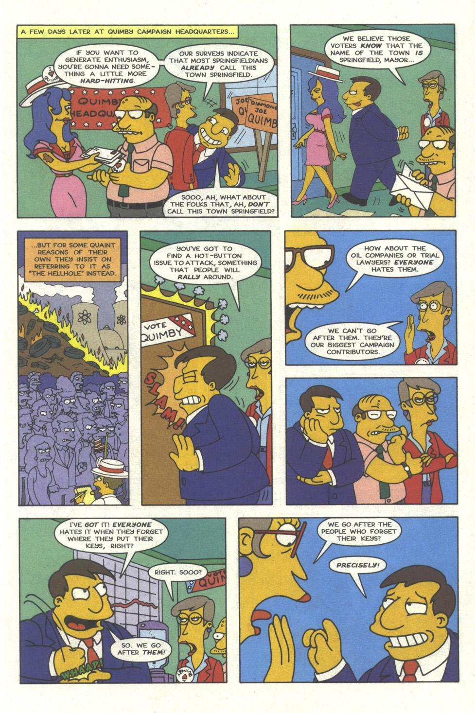 Read online Simpsons Comics comic -  Issue #25 - 6