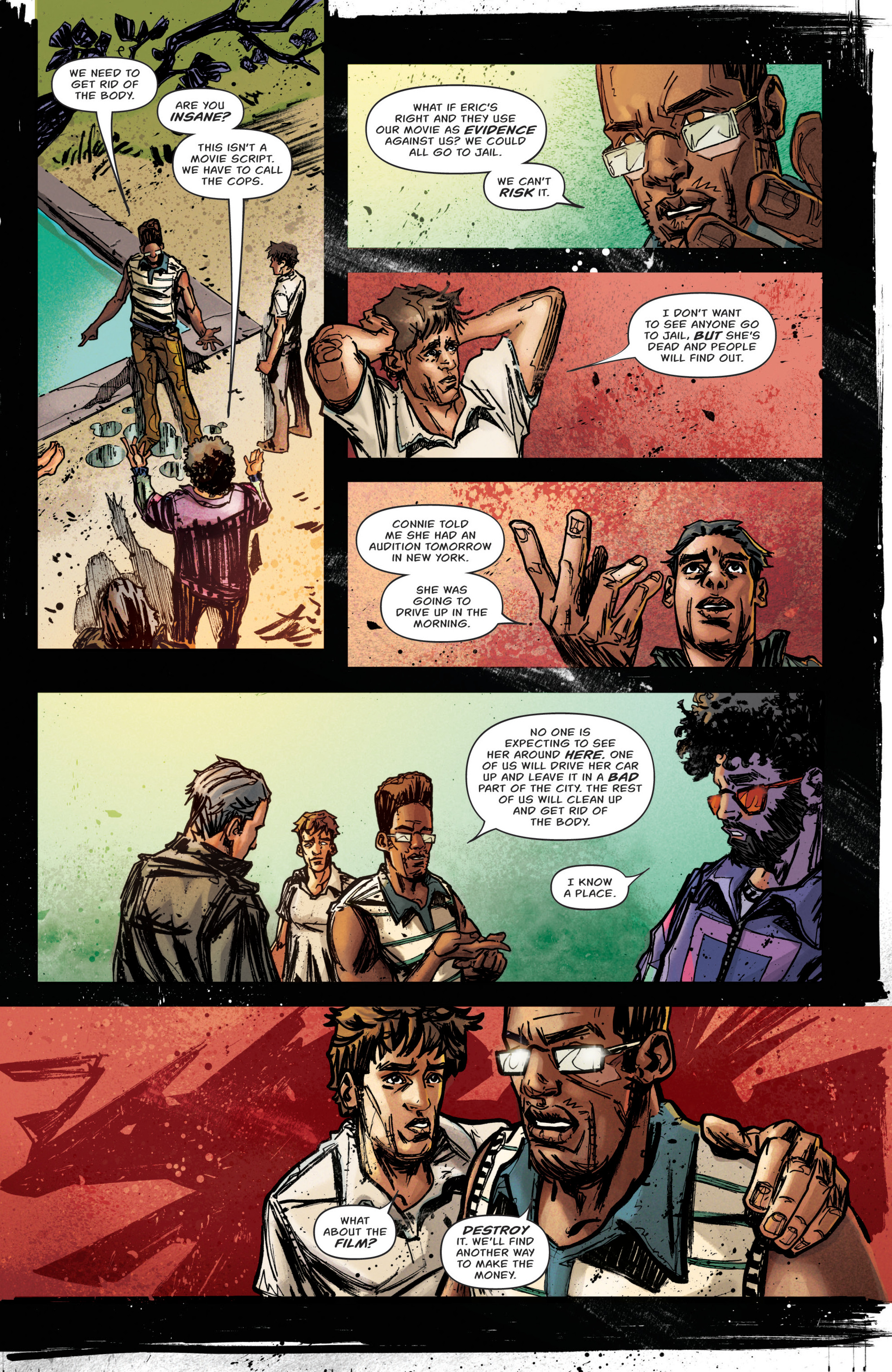 Read online Grimm Tales of Terror: Vol. 3 comic -  Issue #5 - 8
