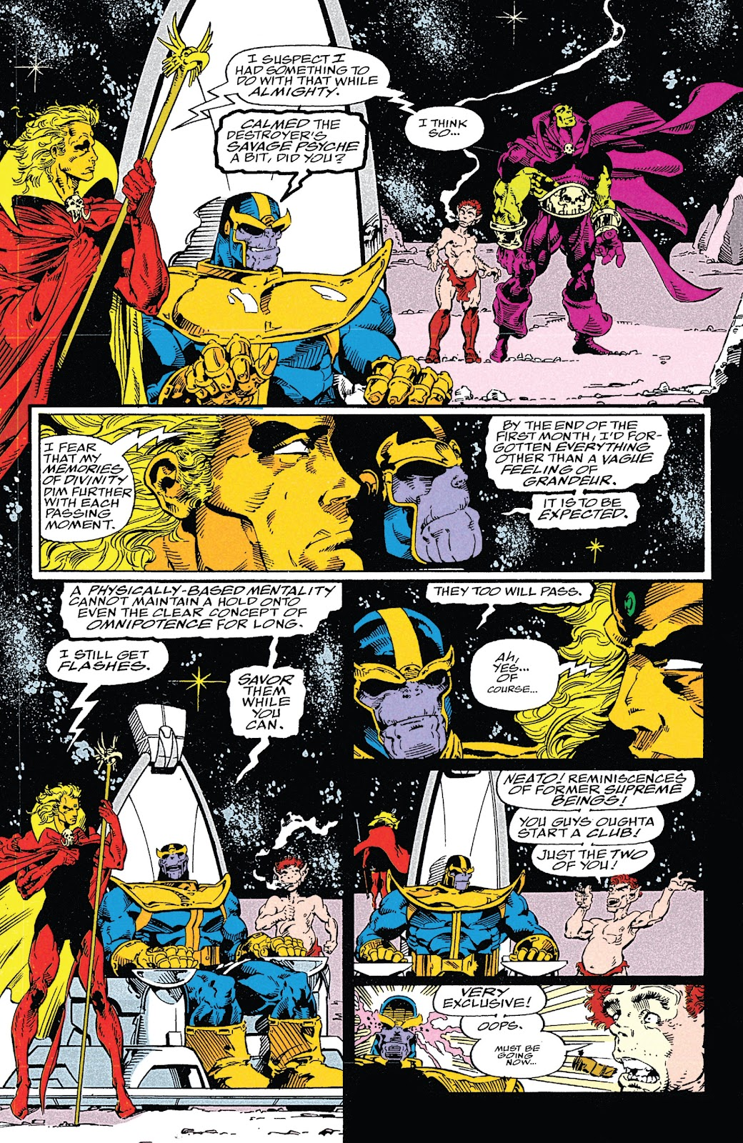 Read online Marvel Tales: Thanos comic -  Issue # Full - 52