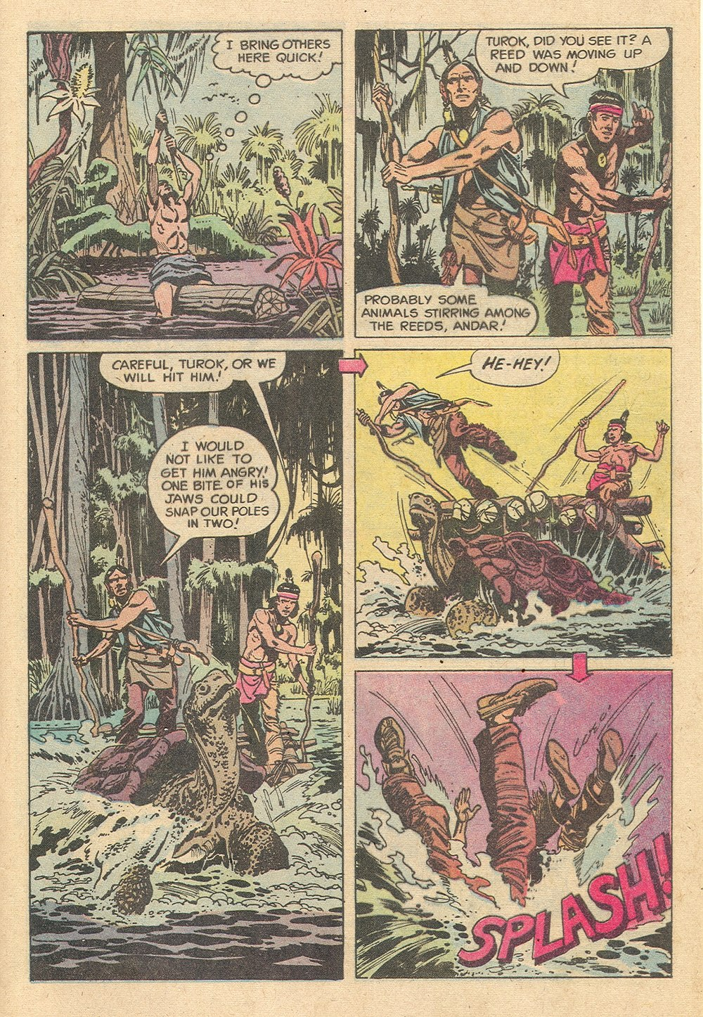 Read online Turok, Son of Stone comic -  Issue #129 - 29