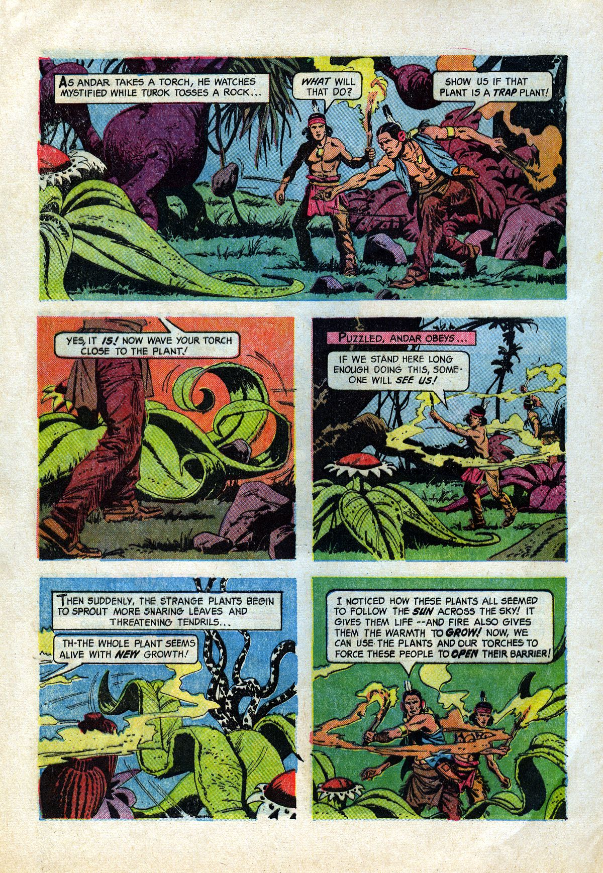 Read online Turok, Son of Stone comic -  Issue #45 - 28