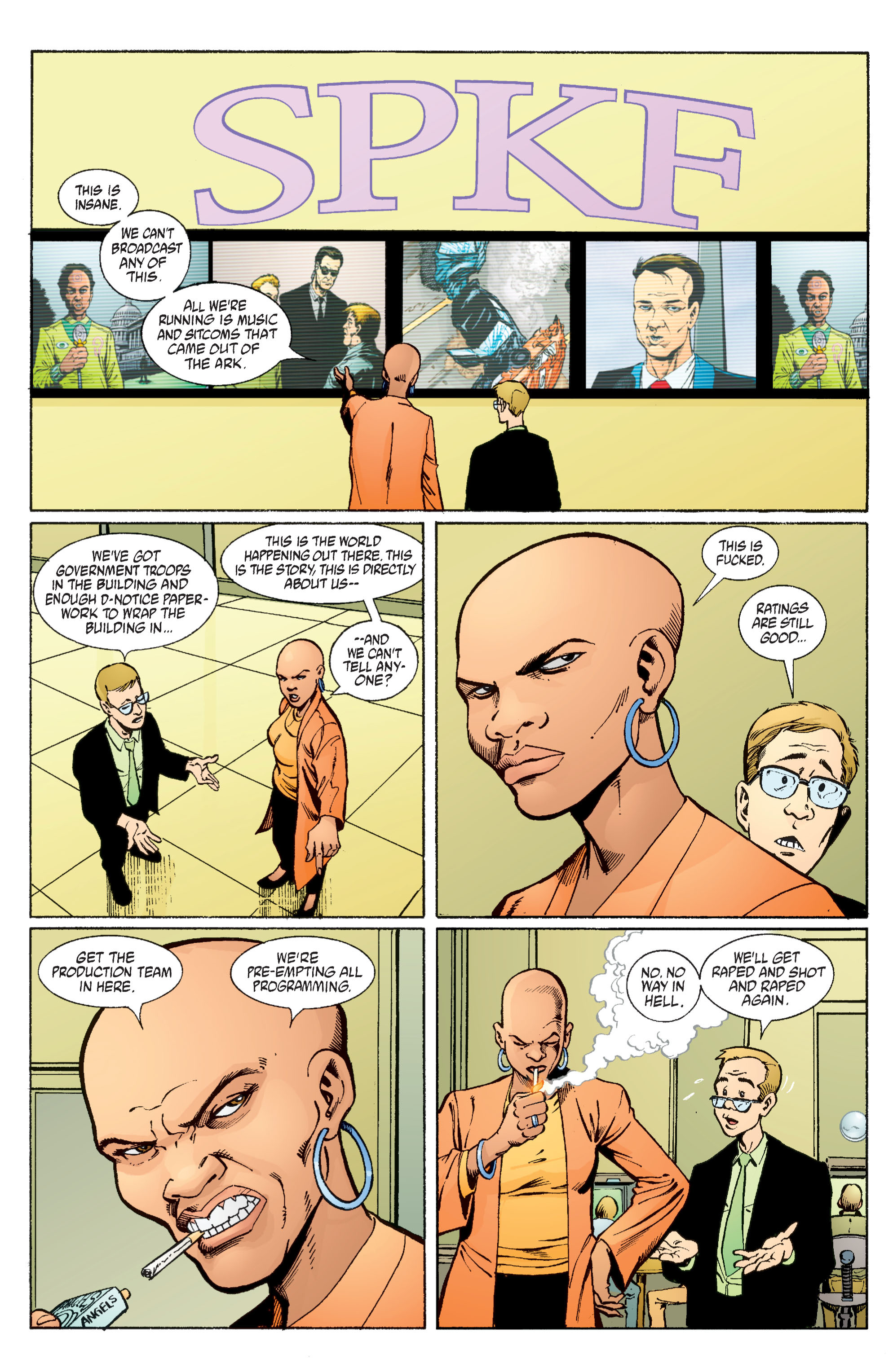Read online Transmetropolitan comic -  Issue #58 - 8