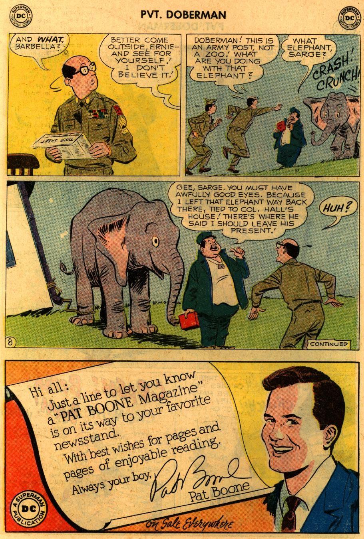 Sgt. Bilko's Pvt. Doberman issue 9 - Page 10