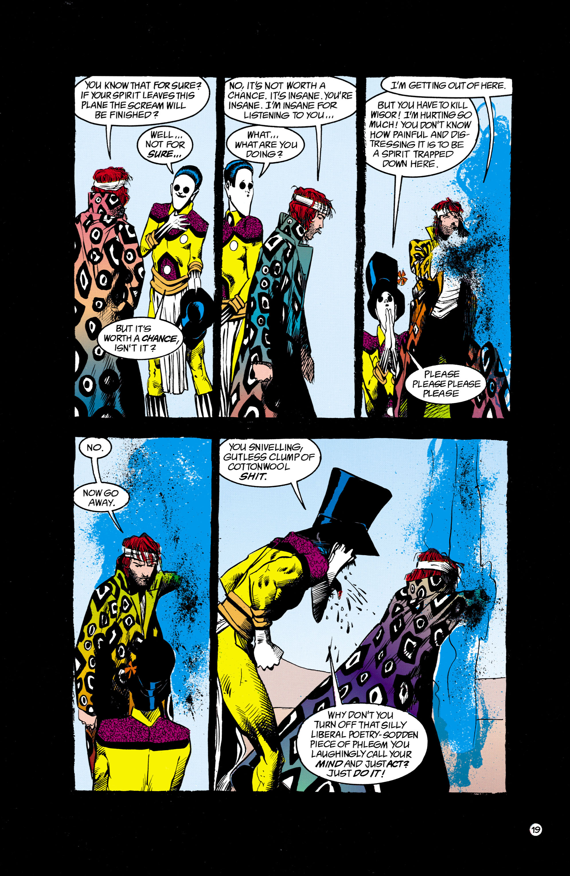 Read online Shade, the Changing Man comic -  Issue #16 - 19