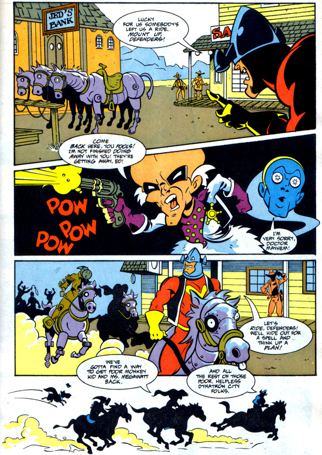 Read online Defenders of Dynatron City comic -  Issue #3 - 14