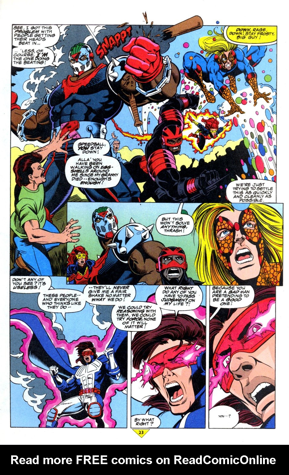 The New Warriors Issue #43 #47 - English 19