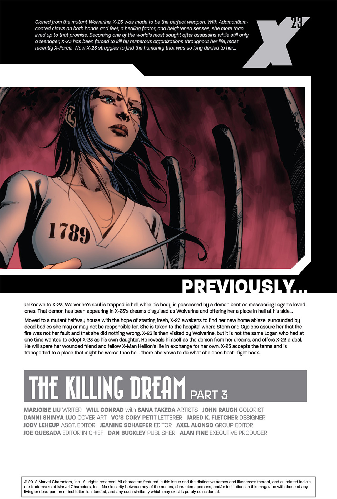 Read online X-23 (2010) comic -  Issue #3 - 2