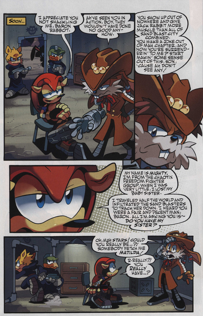 Read online Sonic Universe comic -  Issue #48 - 22